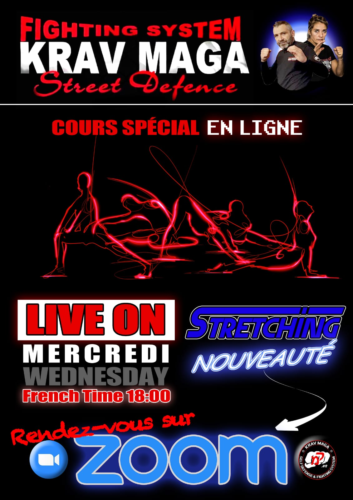 Cours en ligne stretching