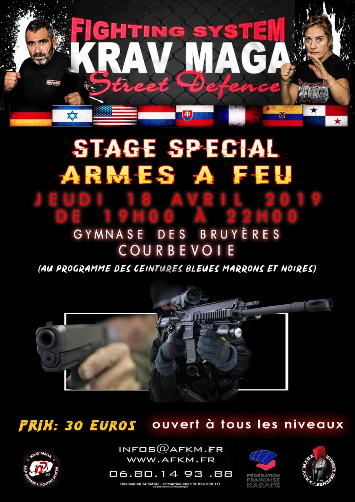 Stage armes a feu